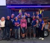 buffalo pedal tours- reunion fun