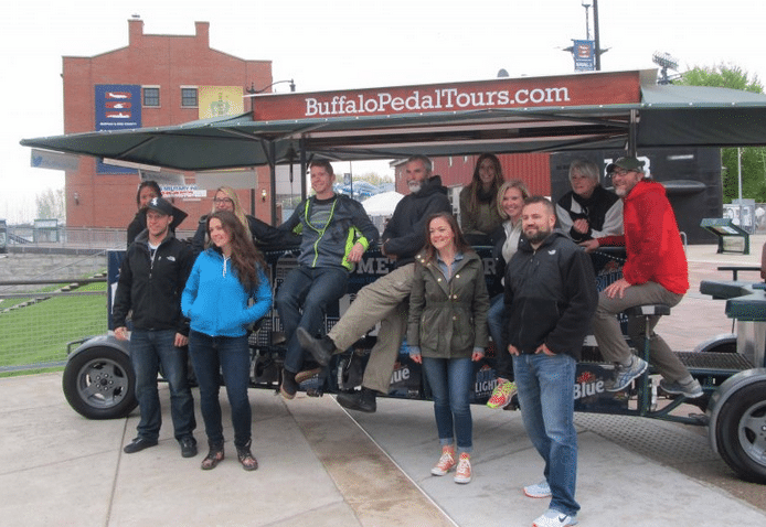 Waterfront Canalside Tours in Buffalo