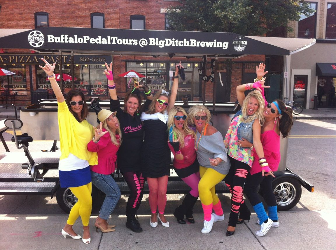 holiday tour ideas halloween costumed pedal tour