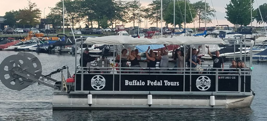 Cycle Boat Experience at Buffalo Pedal Tours