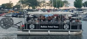 Buy a boat today to add to your party bike company!